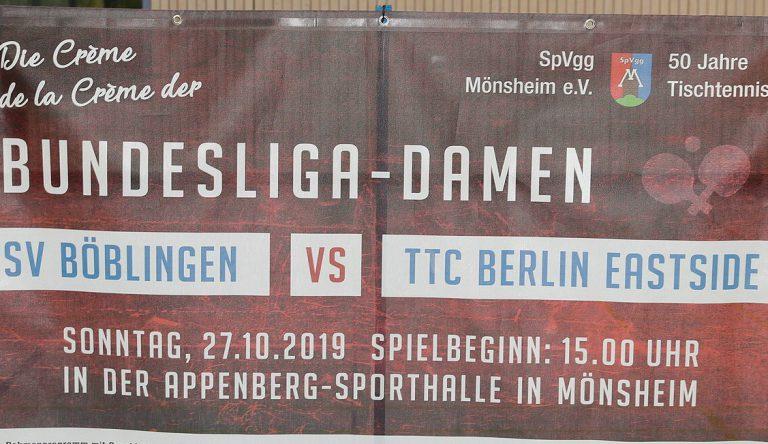 Am Sonntag in Mönsheim gegen Berlin
